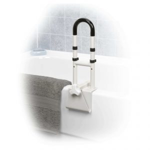Adjustable Height Bathtub Grab Bar Safety Rail rtl12036-adj_life1