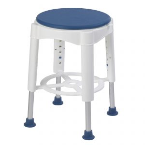 Bath Stool with Padded Rotating Seat rtl12061m