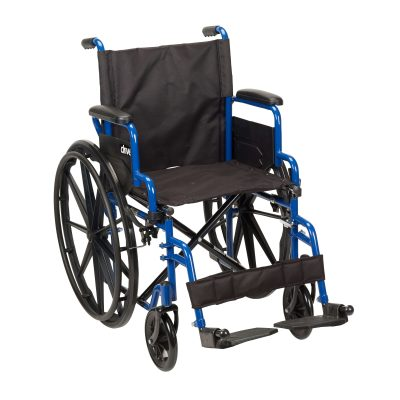 Blue Streak Wheelchair with Flip Back Desk Arms bls20fbd-sf