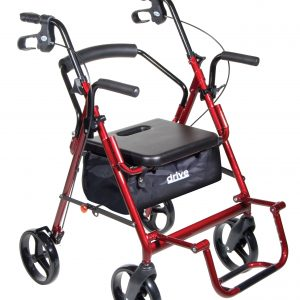 Duet Dual Function Transport Wheelchair Walker Rollator 795bua