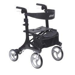 Nitro Elite CF Carbon Fiber Walker Rollator, Black rtl10266cf